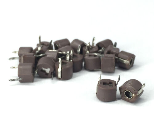 Variable Ceramic 6mm Trimmer Capacitor 20pF QTY:20