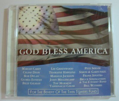 God Bless America  Twin Towers Fund Benefit  By Various Artists  Cd  2001  Xc