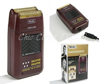 Wahl 8061 Efficient 5 Star Cord/Cordless Rechargeable Shaver Shaper Trimmer