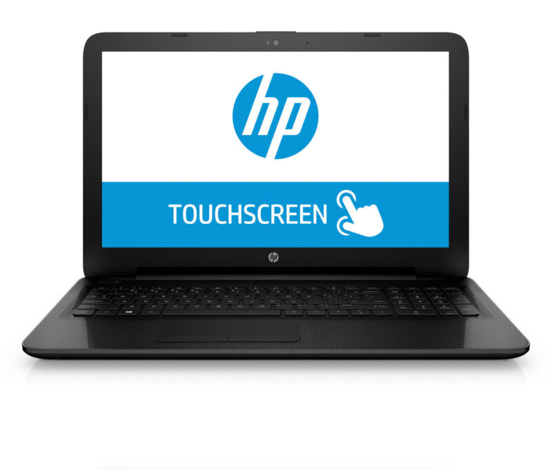 HP 15-BA079DX 15.6 Touch Laptop AMD A10-9600P 2.4GHz 6GB 1TB Windows 10