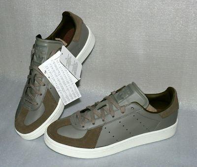 Adidas BZ0508 BW Avenue Herren Schuhe Leder Boots 40 bis 44,5 Oliv Grün Creme ()