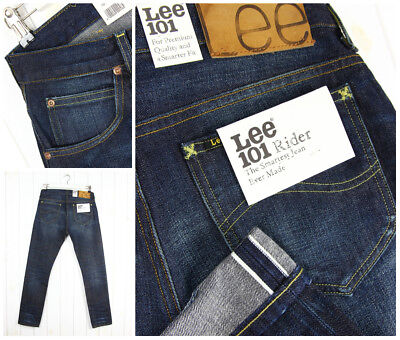 13 Oz (NEW  LEE 101 RIDER 13 3/4 OZ JEANS