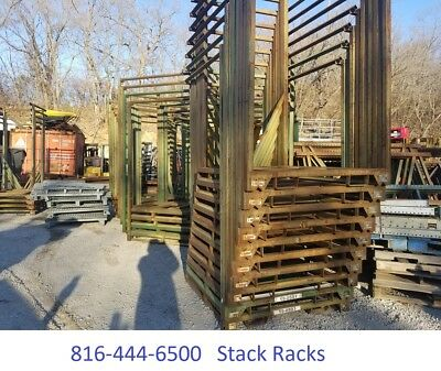 Stack Rack Steel Pallet Shipping Pallet Stack Racks Storage Bins Warehouse