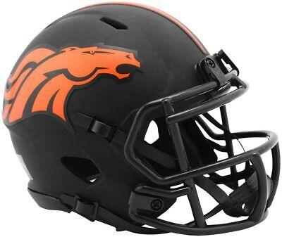 clipse Mini Helm Speed Riddell Footballhelm Football (Broncos Helm)