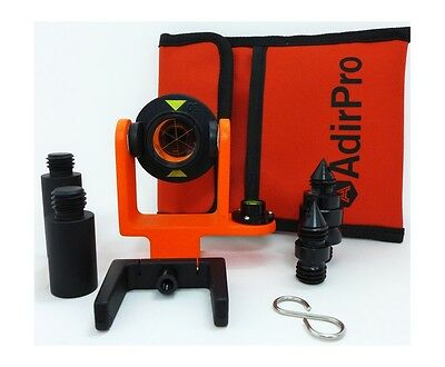 Adirpro Mini Prism System W Side Vial Topcon Total Station Leica Surveying