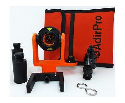 Adirpro Mini Prism System W Side Vial Topcon Total Station Leica Surveying