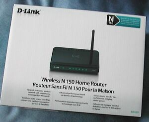 Wireless N150 D-Link Home/Office Router- 6 Months Old- Like New!