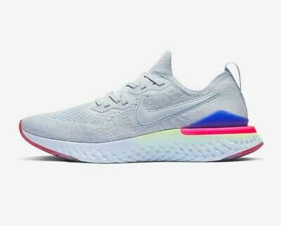 Nike Epic React Flyknit 2 Trainers - Mens Running Gym - White - FAST DELIVERY