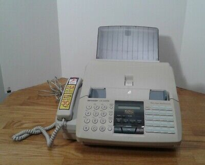 Sharp Ux-600m Fax Machine Plain Paper Fax Copier Phone Multi Function Facsimile