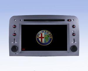 autoradio monitor navigatore satellitare gps per alfa romeo 147 dal 2005 gt 07 ebay. Black Bedroom Furniture Sets. Home Design Ideas