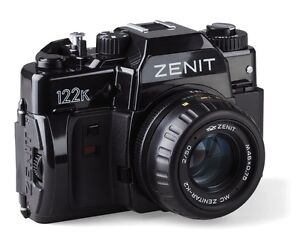 Brand New Zenit 122K 35mm SLR Mechanical Film Camera by KMZ Russia