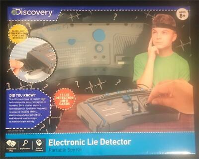 Discovery Kids Electronic Lie Detector Portable Spy Kit New in Package