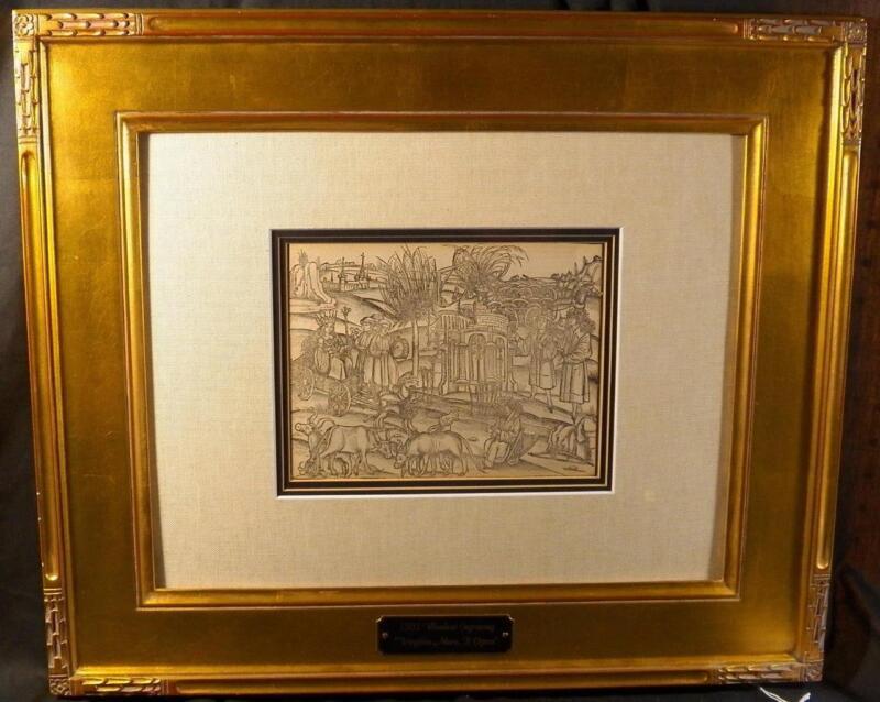 Circle of Albrecht Durer, Georgicorum, Edition Virgilius Maro, P. Opera, CC1501