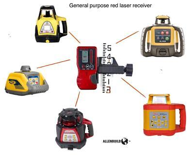Universal Rotary Laser Receiver Detector Dual Display Topcon Leica Cst Pls Ab92r
