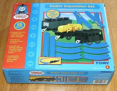 Thomas & Friends Sodor Expansion SET -  Motorized # 4880 15pc NEW - TOMY 2004