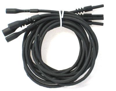 Black Necklace Silicone Cord 18