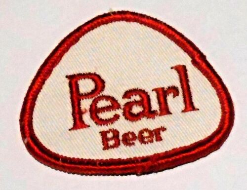 "Pearl Beer Patch Embroidered Ale 2-1/2"" inch Made in USA"