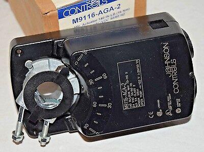 Johnson Controls M9116-aga-2 Electric Non-spring Return Actuator 140 Inlbs