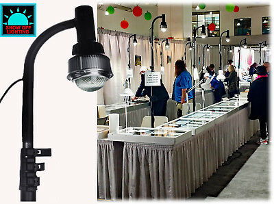 60w Cob Led Jewelry Showcase Display Lights No Heat Pop Up Trade Show Lighting