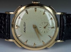 Mathey Tissot 14k Watch | eBay