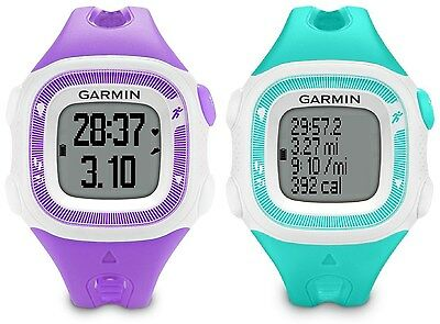 Garmin Forerunner 15 Gps Fitness Sport Watch  Small  Teal Or Violet 010 01241 21