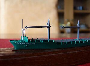 Schiffsmodell MS Rickmer Rickmers - Conrad 1:1250 Containerschiff / Standmodell