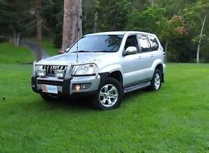 8 SEAT Toyota Prado DIESEL TURBO 4X4 Manual FROM $72 p/w *WARRANTY* Tallai Gold Coast City Preview