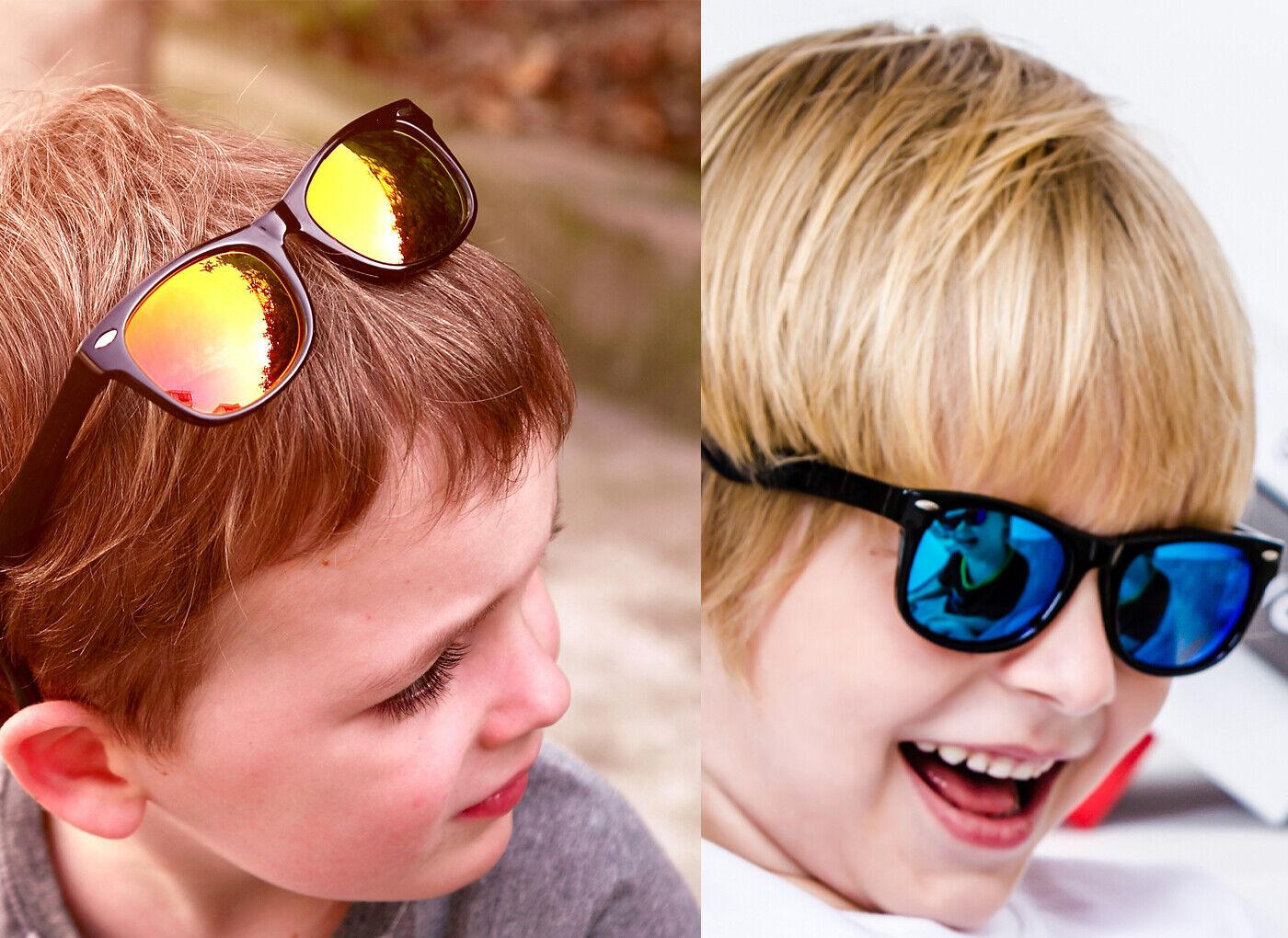 Polarized 100% UV Schutz Kinder Sonnenbrille Polarisiert Wayfare Jungen Mädchen