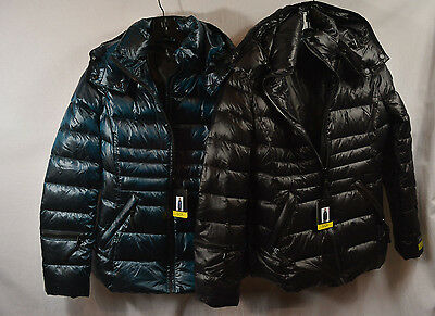 Andrew Marc Ladies  Short Down Jacket Detachable Hood 650 Fill New