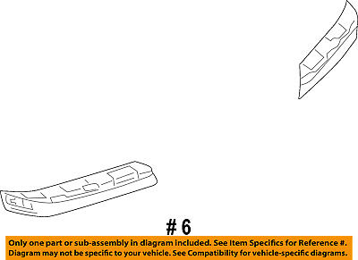 CHRYSLER OEM 05-10 300 Front Bumper-Sealing Strip Right 4805936AA