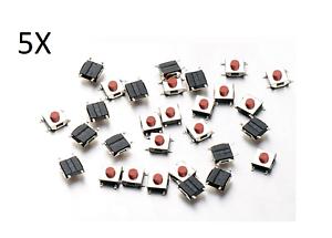5x-BOTONES-TACTILES-6x6x2-5-mm-SMD-PCB-arduino-micro-mini-switch-button-push-cs