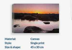 Canvas Print 30cmx45cm Port Lincoln Port Lincoln Area Preview