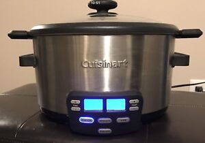 Cuisinart Slow Cooker - Near New Condition