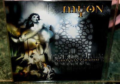 Myon Ghost In Paradise Advanced Promo Cd  Apr 2005  Crash Music  Inc  Slipcase