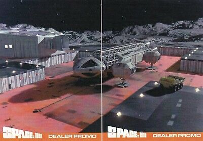 SPACE 1999 Series 2 Rare Premier Cards PCP1 & PCP2 Promo Card Set Limited to 20