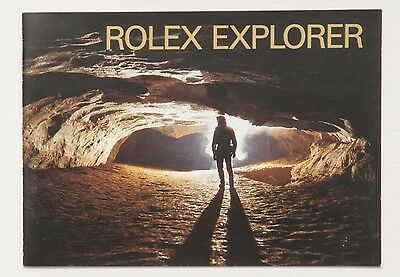 Genuine Rolex EXPLORER Vintage 2000 English Manual Booklet Papers Book Guide