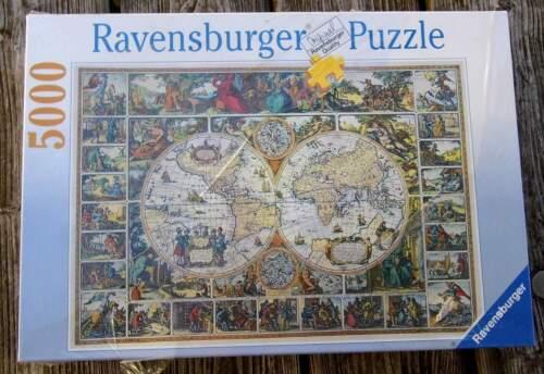 Ravensburger Puzzle - 5000 Teile - Historische Weltkarte