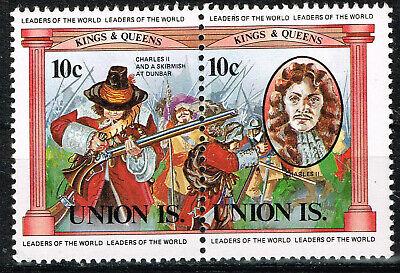 Tuvalu Islands Battle of Dunbar stamps MNH