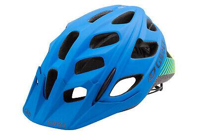 Giro Hex Fahrradhelm Matt Blau//Lime 55-59 cm NEU!