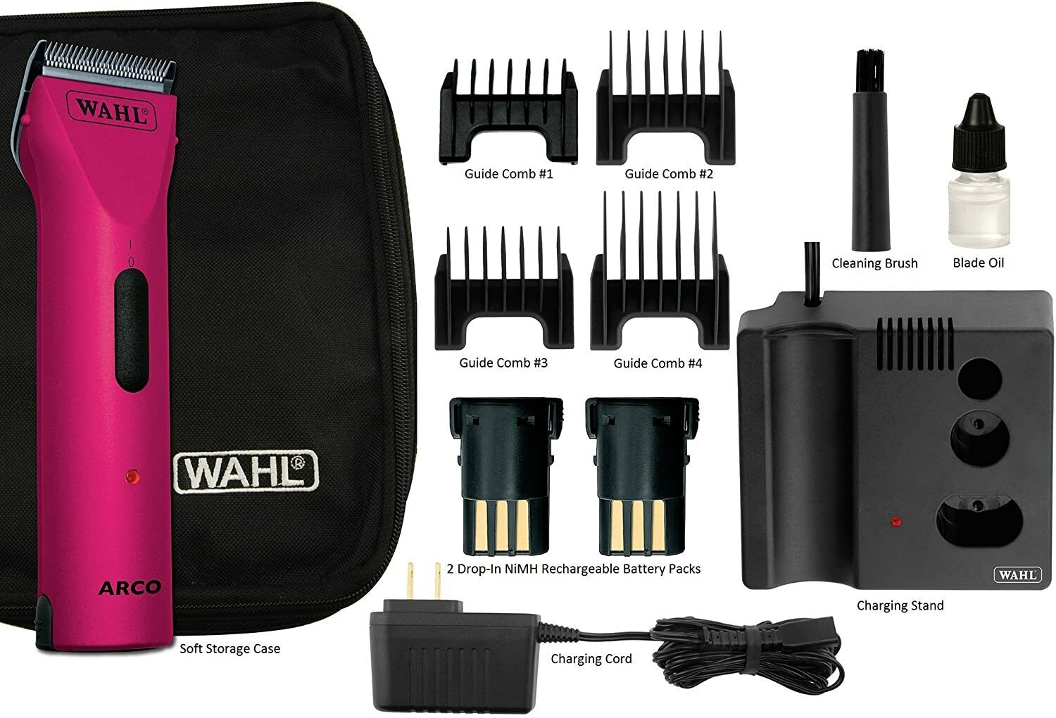 Wahl Professional Animal ARCO Cordless Pet Clipper and Groom