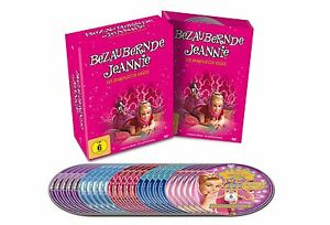 20 DVDs * BEZAUBERNDE JEANNIE - SEASON 1 - 5 KOMPLETT BOX - DEUTSCH # NEU OVP