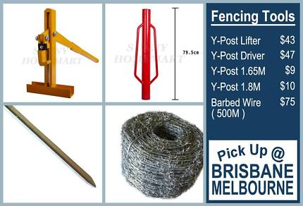 1.65M 1.8M Y-Post Picket Lifter Driver Barbed Wire Fencing Tools