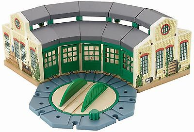 Fisher Price Thomas Wooden Railway Tidmouth Sheds TRAIN SET, TRAIN PLAYSET