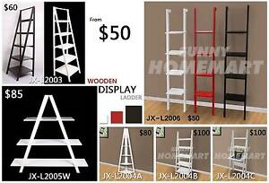 Wooden Display Ladder Shelf Book Shelf Corner Shelf Wall Rack Richlands Brisbane South West Preview