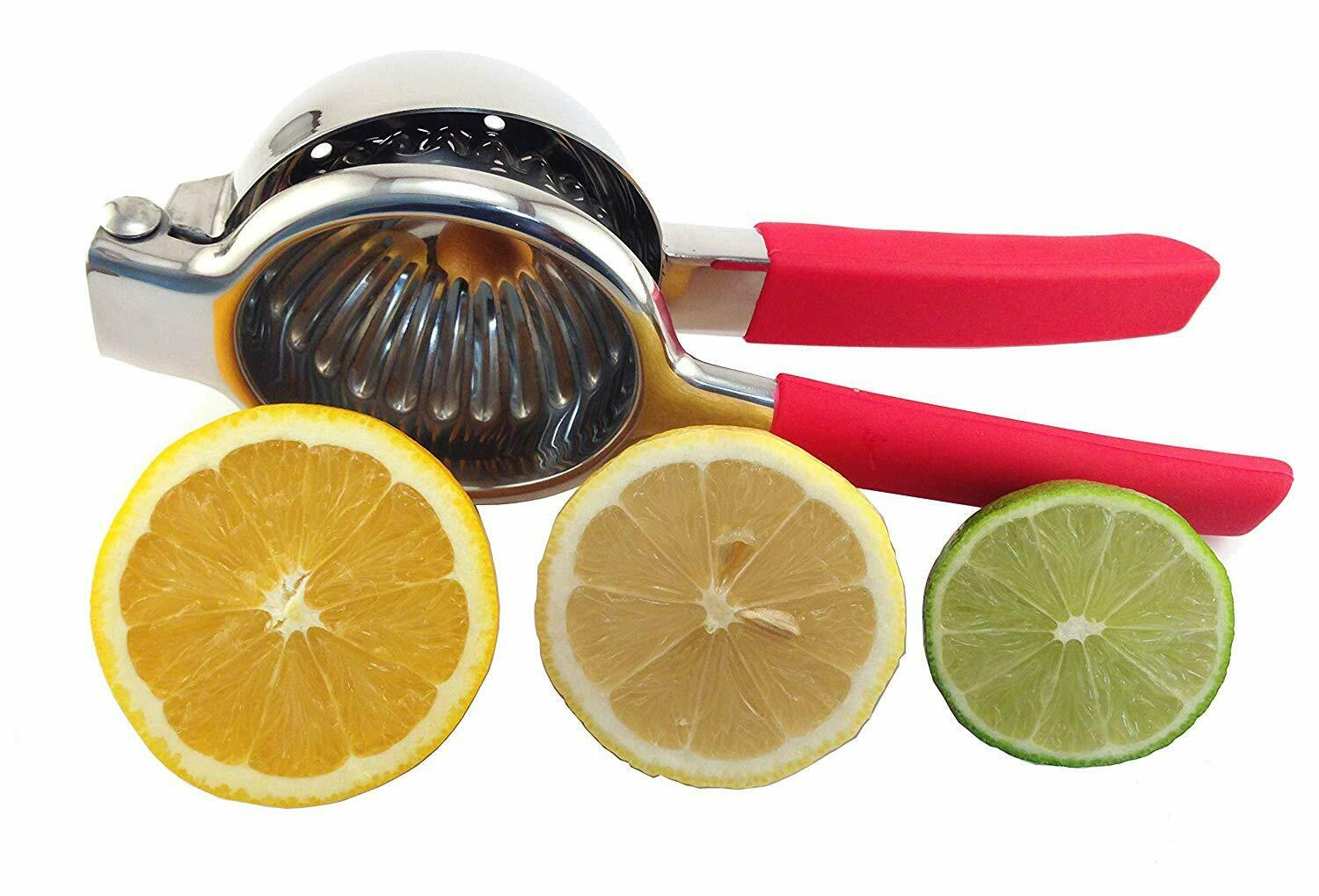 lemon and lime squeezer stainless steel manual