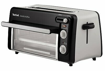 Moulinex Toast & Grill TL600830 Tostador y horno2 en 1, 1300 W....