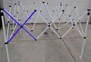 Ozark Trail Slant Leg First Up 10x10 Canopy Gazebo Metal