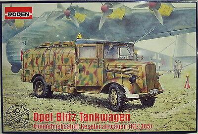Opel Blitz Tankwagen Kfz.385 , 1/72 , Roden , Plastikmodellbau , *NEU*