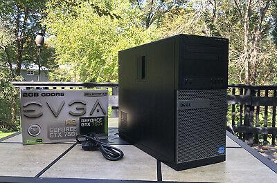 60+ FPS Gaming PC Desktop Computer Intel i5 Quad Core 500gb HDD 8gb Fortnite.