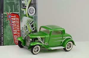 1932 Ford 3 Window Deuce Series synergy green release # 6 1:18 ACME GMP